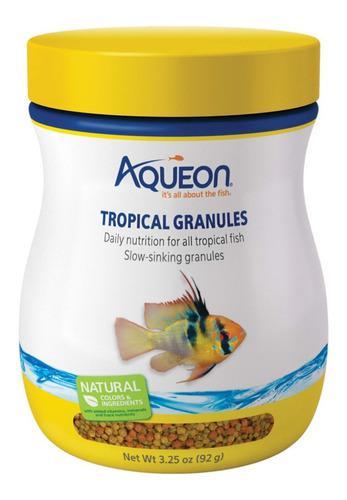 Alimento Granulado Peces Tropicales Aqueon 92 Grs