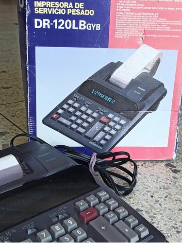 Calculadora E Impresora De Cuentas Casio