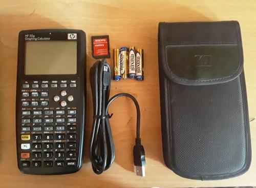 Calculadora Gráfica Hp 50g Pantalla Lcd Negra