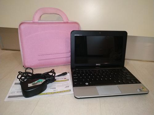 Computadora Mini Laptop Marca Dell Inspiron 10 Con Forro