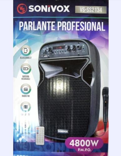 Corneta Amplificador Parlante Bluetooth Pendrive Sd Tienda