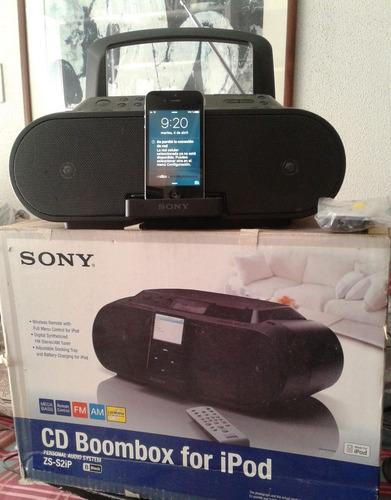 Cornetas Para iPod Y iPhone Sistema De Audio Sony Zs S2ip