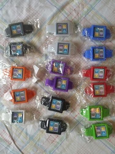 Estuche Forro Tipo Pulsera Silicon iPod Nano 6ta Generacion