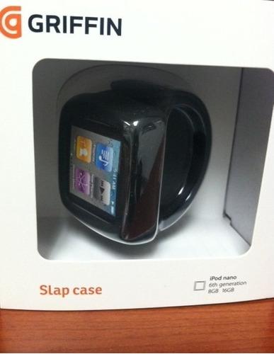 Funda Para iPod Nano 6ta Generación, Color Negro