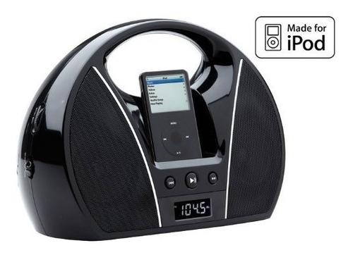 Radio Am/fm Magnasonic Pantalla Lcd Digital Y Base Para iPod