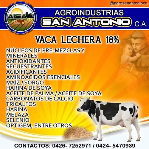Vaca Lechera 18% Aba Alimentos Balanceados