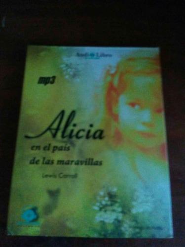 Audio Libro Alicia En El Pais De Las Maravillas Precio Publi