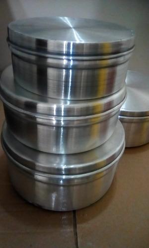 Juego De Quesilleras De Aluminio 3 Piezas