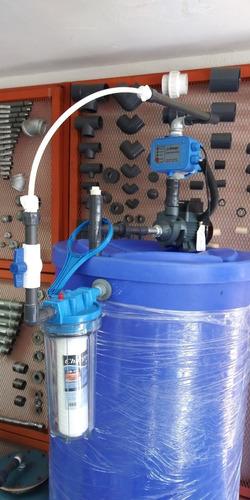 Tanque De Agua Cilíndrico Sistema Completo Para Apartamento