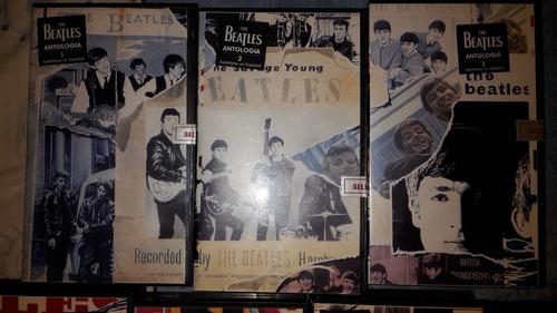 The Beatles Anthology Vhs (antologia The Beatles En Vhs) 10v