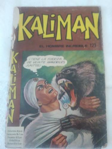 Kaliman, El Hombre Increíble, En Físico. Gran Oportunidad