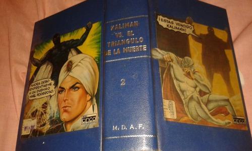 Kaliman El Triangulo De La Muertecompleta En2 Tomos Ed.cinco