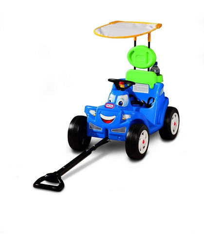 Little Tikes Deluxe 2 In 1 Cozy Roadster Montable Carro Om1