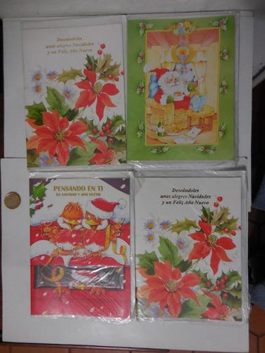 Postales Tarjetas De Navidad Años 80