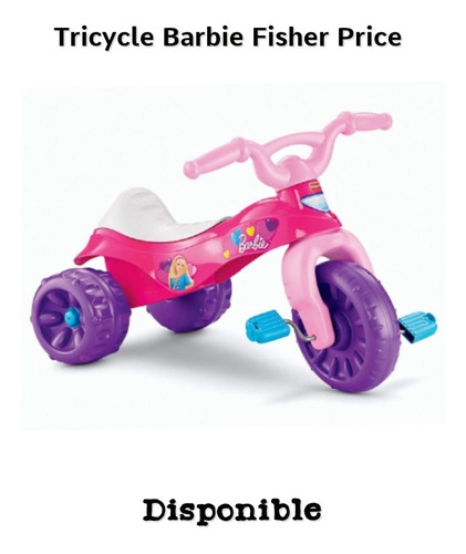 Super Triciclo Barbie Marca Fisher Price Disponible