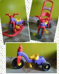 Triciclo Fisfer Price 3 En 1. En 40 Verdes