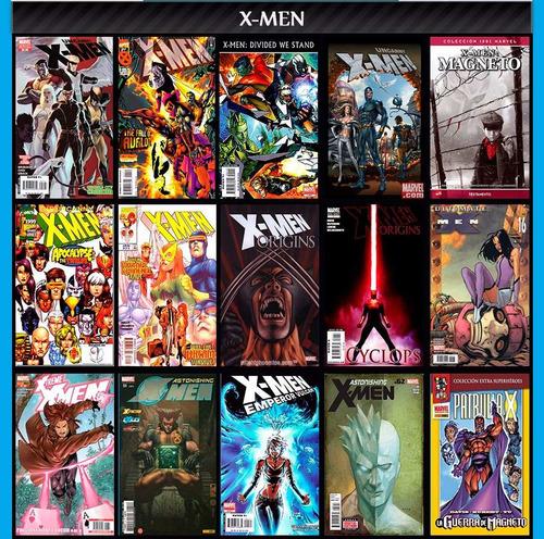 X-men La Patrulla X Comic Digital Español Descargables 1
