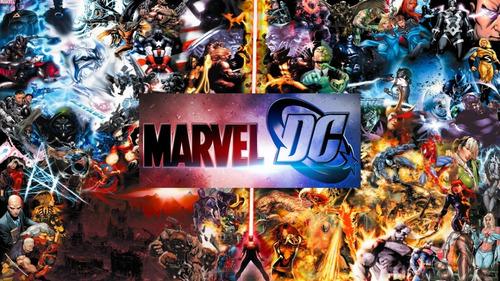 Colección Películas Universo Marvel Y Universo Dc