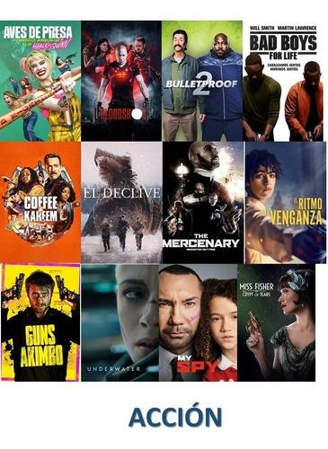 Pack De 12 Películas Digitales Hd (estrenos )