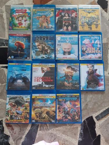Películas De Blu Ray 3d Y 4k Ultra Hd