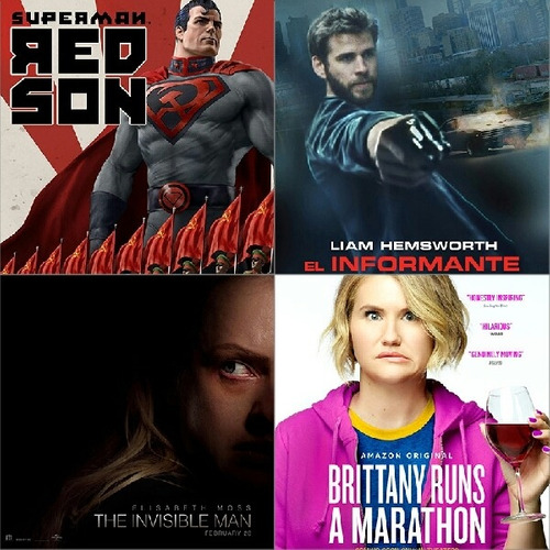 Peliculas El Informante Y Superman Red Son Full Hd En Combos