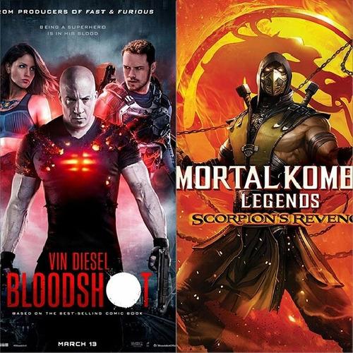 Peliculas Mortal Kombat Y Bloodshot Estrenos Fullhd En Combo