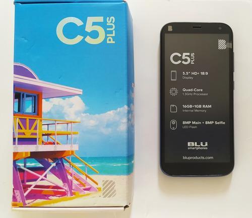 Smartphone Blu C5 Plus. Pantalla Hd De 5. Muy Buen Precio