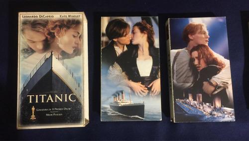 Titanic Original Vhs Colección Vintage