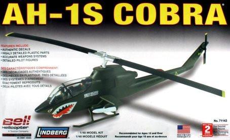 Ah-1s Cobra (kit Plástico), 1/48. Lindberg Usa.