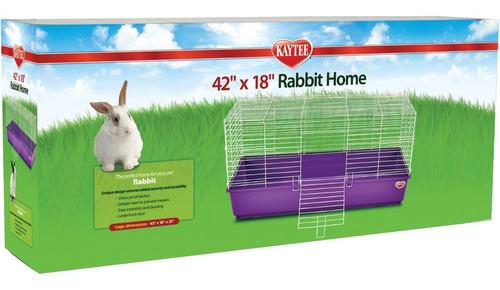 Casa Conejos Cobayo Kaytee 107x 46x 53 Cms De Altura