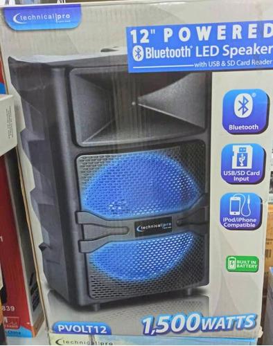 Corneta Amplificada Bluetooth Karaoke Usb Sd Parlante Tienda