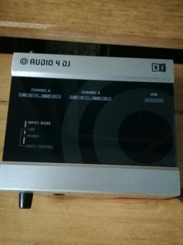 Interfaz De Audio Audio 4 Dj Native Instrument