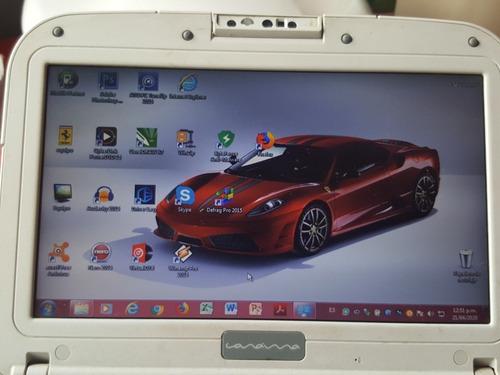 Laptop C.a.n.a.i.m.a Letras Rojas