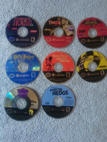 Oferta! Juegos De Gamecube Compatible Con Wii 5verdes C/u