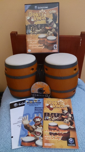 Oferta Nintendo Donkey Konga Bongo Gamecube Wii 30verdes