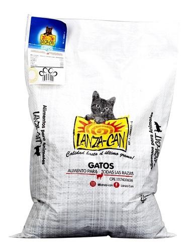 Alimento Para Gatos 5kg Lanza Can ()