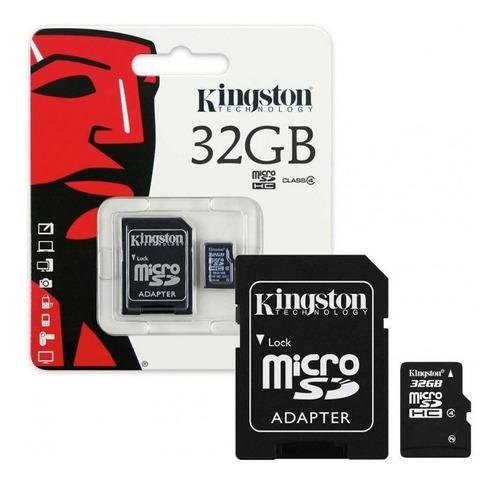Memoria Micro Sd Hc Kingston Original De 32 Gb Mtech