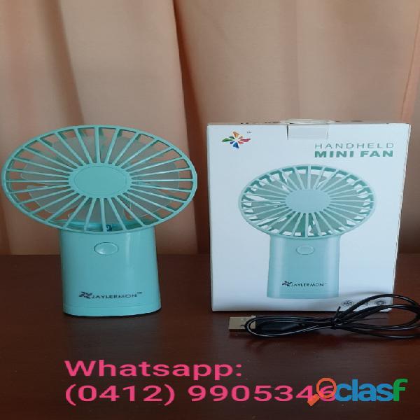 Mini ventilador de 2 velocidades