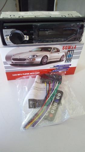 Reproductor De Carro Conexión Bluetooth.usb.aux.tarjeta Sd