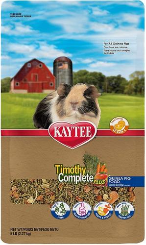 Alimento Kaytee Timothy Frutas Vegetal Cobayos 5 Lb /2.27 Kg