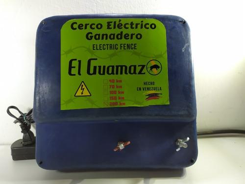 Cerca Ganadera Energizador Dual 200km Batería Incorporada