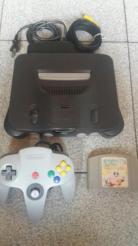 Nintendo 64 Completo Con Kirby The Crystal Shard's
