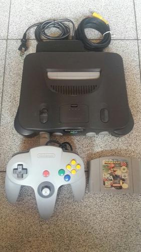 Nintendo 64 Completo Con Mario Kart