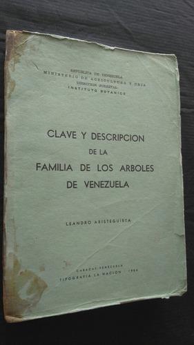 P1 L Aristeguieta Clave Descripcion Familia De Arboles Vzla