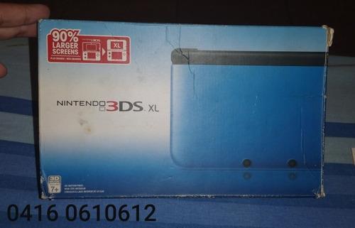 Caja Vacía De Nintendo 3ds Xl Azul