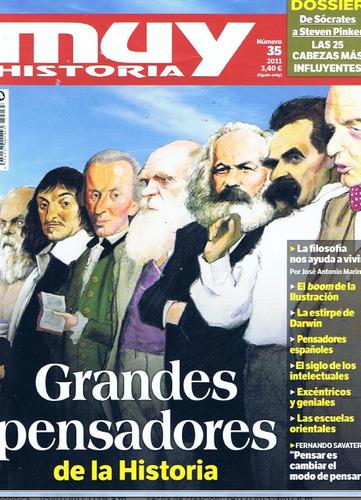 D - Muy Historia - Grandes Pensadores De La Historia