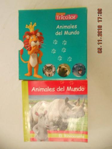Enciclopedia De Animales Del Mundo (tricolor)