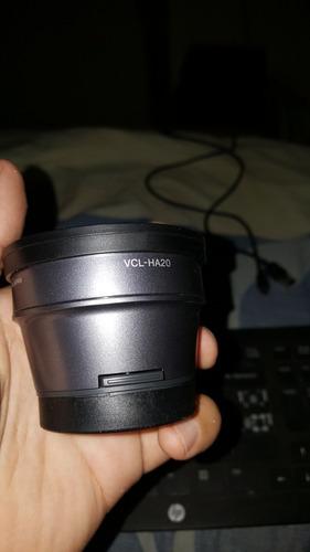 Lente Para Video Cámara Sony Vcl-ha20 Y Kit De Lentes Sony