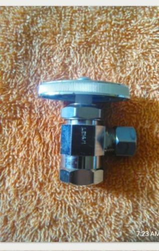 Llave De Arresto De 1/2 X3/8 Brass Crasft Made In Usa