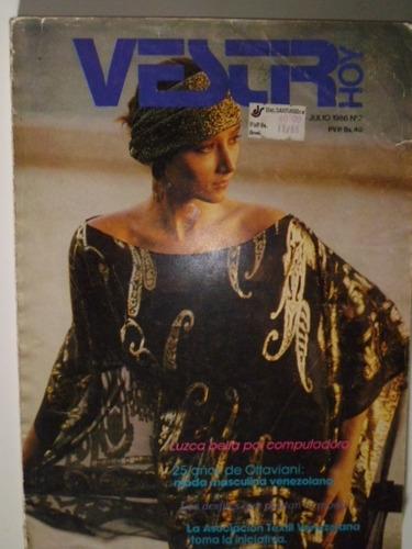 Lote De 2 Revistas De Moda - Vestir Hoy - #2 Y #3 En Físico